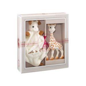 Софи жирафчето в сет с утешител-одеялце за гушкане