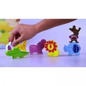 3D Пъзел - горски животни