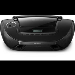 Philips CD радиокасетофон, Digital Audio Broadcasting, CD, MP3-CD, USB