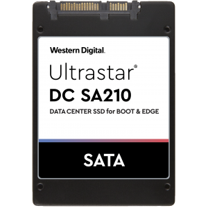 "SSD WD Ultrastar DC SA210 960GB 2.5"" Enterprise-grade SATA III 3D NAND (0TS1651) 5 years warranty"