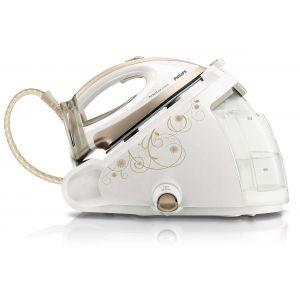 Philips Парогенератор PerfectCare Silence 6,5 бара налягане, 350 г парен удар, Заключване при носене, 1, 5 л подвижен воден резервоар