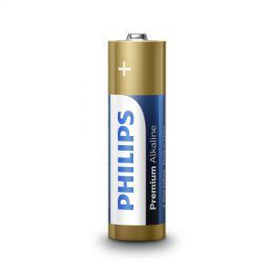 Philips Premium Alkaline батерия LR6 AA, 4-blister