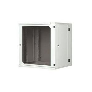 """19"""" 6U two-section wall-mounting rack, depth 600 mm with removable side panels"""