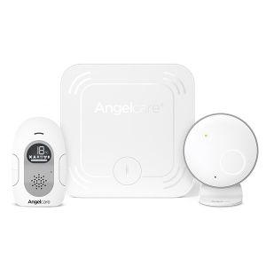 Дигитален бебе монитор 2в1 за следене на движение и звук с безжична подложка AngelCare AC127