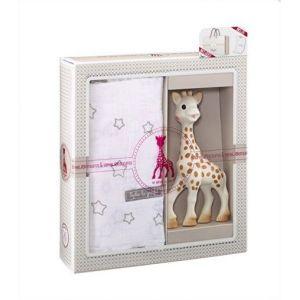 Софи жирафчето подаръчен сет 4 - с пелена за повиване