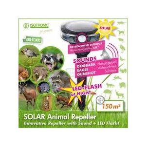 Isotronic Соларен електронен уред с ултразвук против птици и животни на открито