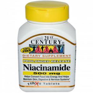 Ниацинамид Витамин B-3 500 мг