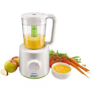 Philips Avent Комбиниран уред за приготвяне на бебешка храна на пара и блендер